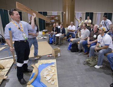 NWFA Convention for craftsmen
